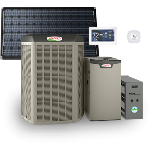 Lennox heating and air conditioning products elam for Lennox program